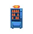 Soft Drink Vending Machine Design vector image vector image