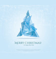 Abstract christmas card with modern elements vector image vector image