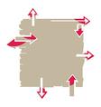 Arrow Board vector image