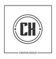 Initial letter cx logo template design