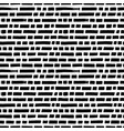 short horizontal lines hand drawn seamless pattern vector image vector image