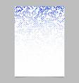 Square pattern poster design - tile mosaic