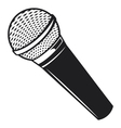 Classic Microphone vector image vector image