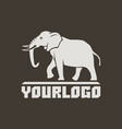 elephants logo sign pictogram-02 vector image vector image