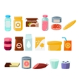 Every Day Products Set vector image vector image