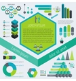 Meeting infographic elements vector image vector image