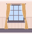 room interior polka dot wallpapers and curtains vector image vector image
