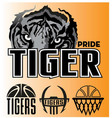 tiger-pride vector image vector image