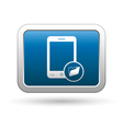 Phone with folder icon vector image