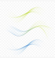 abstract web smooth mild divider lines - fashion vector image vector image