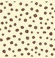 black pepper spice seamless hand drawn pattern vector image vector image