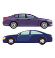 cars vehicles transport city modern vector image vector image