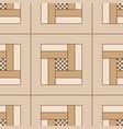 geometric seamless wooden parquet floor pattern vector image vector image