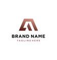 letter a logo icon design template vector image vector image