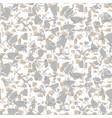 marbled rock seamless white pattern vector image vector image