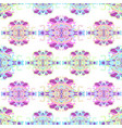 seamless pattern with colorful abstract shape vector image