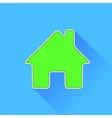Green Home Icon vector image