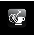 cup price icon vector image vector image