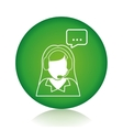 Customer service and call center vector image