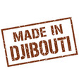 made in djibouti stamp vector image vector image