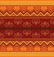 retro carpet design vector image vector image