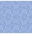 Seamless vintage blue background vector image vector image