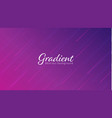 stylish abstract gradient backgrounddynamic line vector image vector image