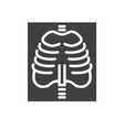x-ray related icon vector image vector image