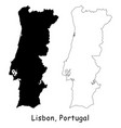 1140 lisbon portugal vector image