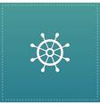 rudder web flat icon
