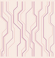 abstract seamless pattern with lines vector image vector image