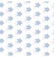 dotted arrow pattern for your design seamless vector image vector image
