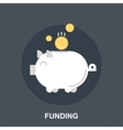 Funding vector image