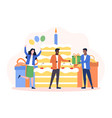 happy birthday celebration party concept vector image vector image