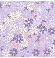 Light floral chamomile retro vintage vector image vector image