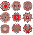 mandalas of love vector image