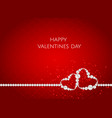 valentines day abstract background with heart vector image vector image