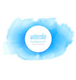 abstract blue watercolor texture background vector image vector image
