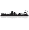 Albuquerque USA city skyline silhouette vector image vector image