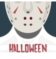 Female with Hockey Mask vector image vector image