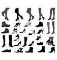Footwear vector image vector image