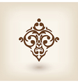 luxury damask baroque victorian floating design vector image vector image