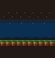 8bit platformer pixel art mobile game assets vector image vector image