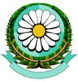 daisy cartoon logo vector image vector image