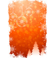 Grungy Christmas Card vector image vector image