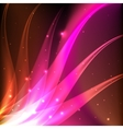 Shiny pink abstract background vector image vector image