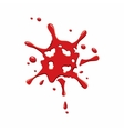 Small spot of blood icon vector image vector image