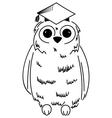 Wisdom symbol vector image