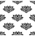 Decorative seamless floral pattern vector image vector image