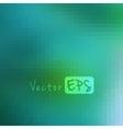 Digital square pixel mosaic background vector image vector image